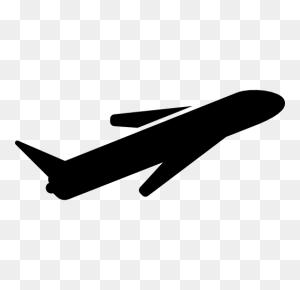 Airplane Flight, Planes, Flight, Airplane, Plane, Silhouette - Airplane Silhouette PNG