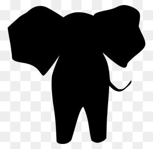 Animal Silhouettes Elephants Computer Icons Circus - Circus Elephant Clipart
