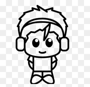 Anime, Boy, With, Headphones Icon Free Of Anime Characters Icons - Anime Icon PNG