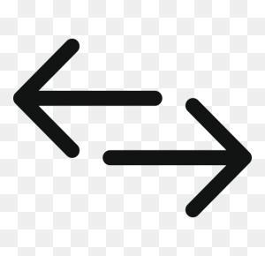 Arrow, Arrow Left Right, Arrows, Double, Double Arrow - Double Arrow PNG