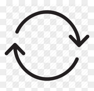 Arrow, Circle, Circle Arrow, Double Arrows, Recycle, Sync - Circle Arrow PNG