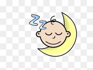 Babies Clip Art,sleeping Baby Graphic - New Baby Clipart