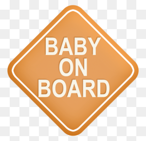 Baby On Board Sign Rebenok Clipart Baby, Babies - Baby On Board Clipart