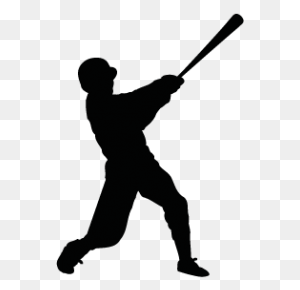 Baseball Silhouettes Silhouettes Of Baseball - Baseball PNG