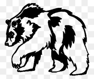 Bear Black And White Black Bear Clipart Black And White - Shepherd Clipart Black And White