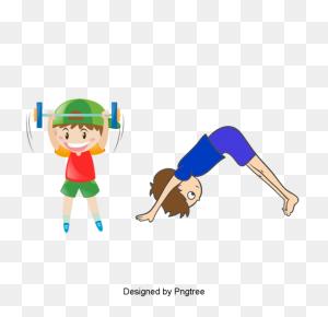 Beautiful Cool Cartoon Characters Sports Activities Play - Cartoon Characters PNG
