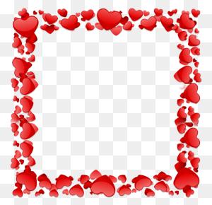 Beautiful Heart Frame, Beautiful Heart Vector, Heart Frame, Frame - Photo Frame PNG