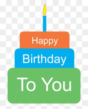 Birthday Cake Clip Art Beautiful And Cute Happy Birthday Cake - November Birthday Clipart