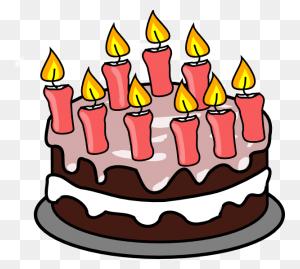 Birthday Cake Clip Art Birthday Cake Clip Art Free Birthday Cake - Birthday Clipart Black And White