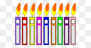 Birthday Candle Clipart Hand Painted Birthday Candles Birthday - Birthday Clipart PNG