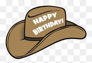 Birthday Hat Happy Birthday To You Birthday, Happy - Birthday Hat PNG
