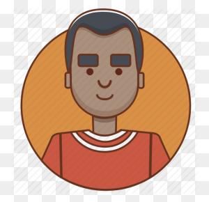 Black Man, Cartoon Character, Character, Character Set, Guy, Man - Black Guy PNG