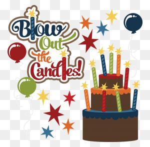 Blow Out The Candles Birthday Clipart Cute Birthday Clip Art - November Birthday Clipart