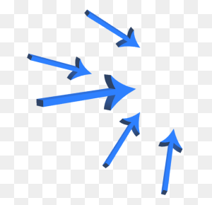 Blue Arrow Vector, Blue Arrows, Arrow, Color Png - Blue Arrow PNG