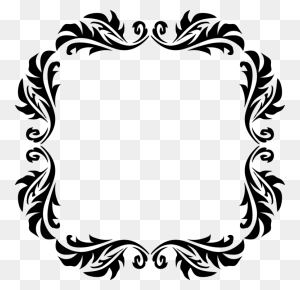 Borders And Frames Drawing Line Art Picture Frames Black And White - Photo Frame Clipart
