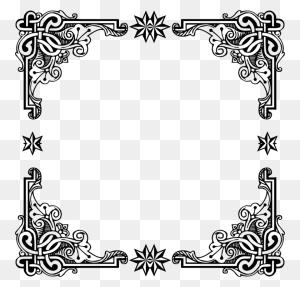 Borders And Frames Picture Frames Decorative Arts Windows Metafile - Vintage Frame PNG