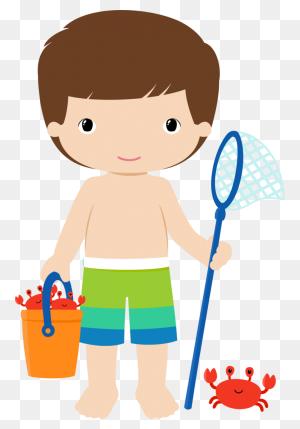 Boy Clipart Summer, Boy Summer Transparent Free For Download - Summer Kids Clipart