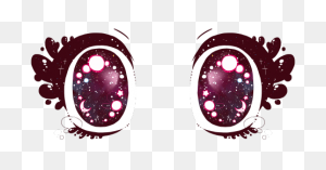 Browsed Anime Eyes, Anime - Anime Eyes PNG