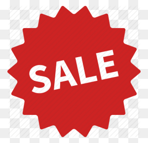 Burst, Label, Red, Sale, Sales, Sign, Sticker Icon - Sale Sticker PNG