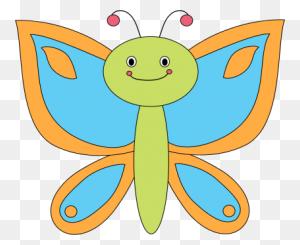 Butterflies Butterfly Clip Art Clipart - Butterfly Body Clipart