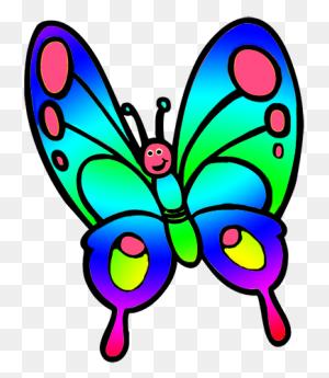 Butterflies Butterfly Clipart Transparent Background - Transparent Butterfly Clipart