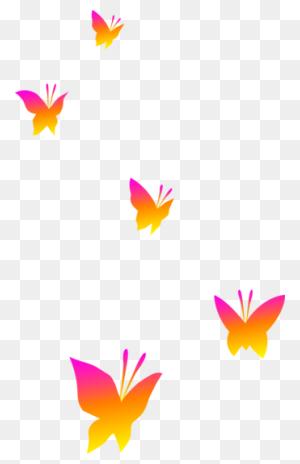 Butterflies On Transparent Background Butterflies - Butterfly Clipart Transparent