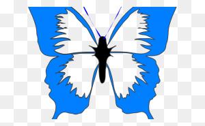 Butterfly Cliparts Butterflies Butterfly Clip Art Clipartix - Blue Butterfly Clipart