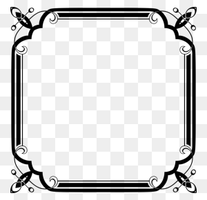 Calligraphic Frames And Borders Picture Frames Painting Art Free - Photo Frame Clipart