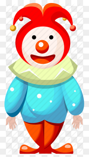 Cartoon Character, Cartoon Clown, Cartoon People, Clown Icon - Cartoon Characters PNG