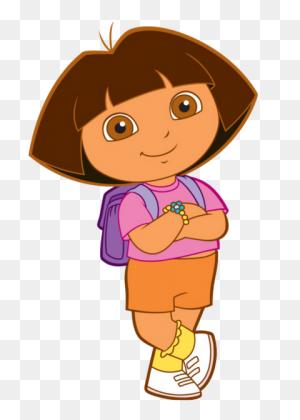 Cartoon Characters Dora The Explorer - Paw Patrol Characters PNG