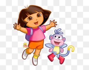 Cartoon Characters Dora The Explorer - Cartoon Characters PNG