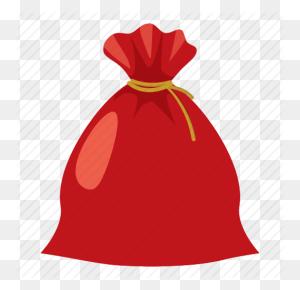 Cartoon Christmas Gift - Christmas Gift Tag Clipart