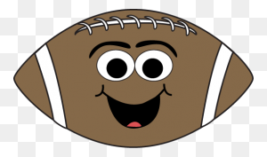 Cartoon Face Football Clip Art Cartoon Face Football Image - Nfl Football Clipart