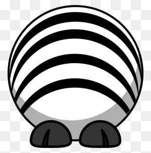 Cartoon Zebra Clip Art Clip Arts Download - Zebra Clipart