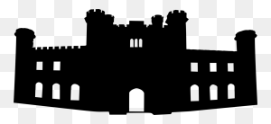 Castle Silhouette Dxf Pngrwd Thehungryjpeg In Castle - Disney Castle Silhouette PNG