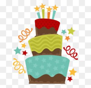 Chocolate Birthday Cake Svgs Birthday, Birthday - Cute Birthday Clipart