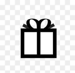 Christmas Gift Box Computer Icons Christmas Day - Gift Box Clipart Black And White