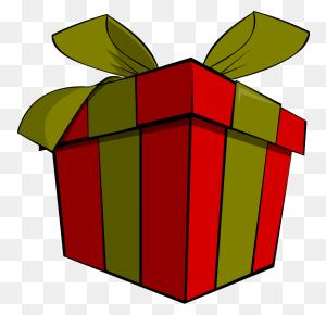 Christmas Gift Clip Art Look At Christmas Gift Clip Art Clip Art - Food Basket Clipart