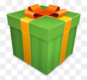 Christmas Gift Green Icon - Christmas Gift PNG