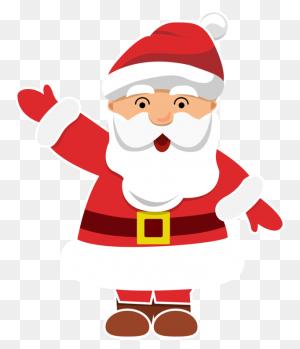 Christmas Ornament Santa Claus - Santa And Mrs Claus Clipart