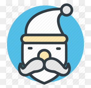Christmas, Santa Avatar, Santa Claus, Santa Claus Face, Santa Face - Santa Claus Face Clipart
