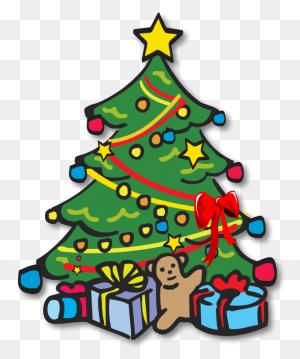 Christmas Tree Black And White Xmas Tree Clip Art Christmas - White Christmas Tree Clipart