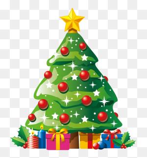 Christmas Tree Clip Art Ofstmas Tree Tops Clipart Branch Trees - Christmas Tree Clipart PNG