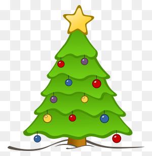 Christmas Tree Clip Art Xmas Christmas Tree - Christmas Tree Decorations Clipart