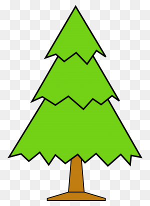 Christmas Tree Clipart Transparent Background