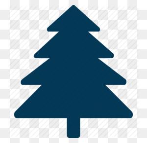 Christmas Tree, Cypress Tree, Evergreen Tree, Fire Tree, Tree Icon - Evergreen PNG