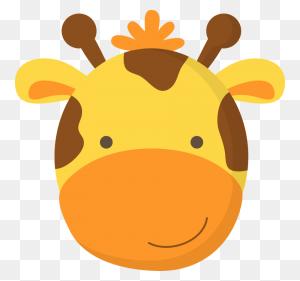 Clip Art Bebe, Animales And Animales De - Giraffe Face Clipart
