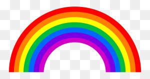 Clip Rainbow, Rainbow Colors - Rainbow Bridge Clipart