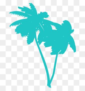 Clipart Trees Christmas Palm Tree Clip Art Outline Free Palm Tree - Christmas Palm Tree Clip Art