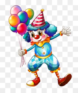 Clownin' Birthday, Happy Birthday, Happy - Happy Birthday Banner Clipart